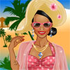 Beach Dress up game