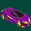 Best class racing car coloring game