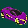 Meilleure classe Coloriage voiture de course jeu