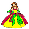 Beau Coloriage princesse Bloom jeu