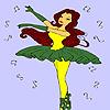 Beste ballerina kleurplaten spel