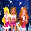 Beauty Rush 3 - Xmas Poster game