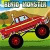 Ben10 Monster Truck játék