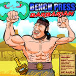 Bench Press The Barbarian juego