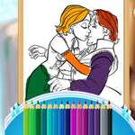 Beauty Queen Coloring Book game