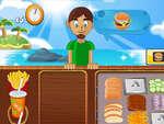 Strand Burger Spiel