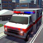 Meilleure ambulance d'urgence Rescue Drive Sim jeu
