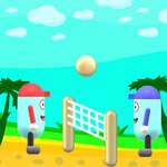 beach-volley jeu