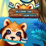 Станете зъболекар на животни игра