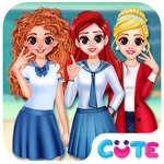 BFF Prenses Okula Geri oyunu