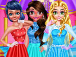 BFF Ballsaal Tanz Outfits Spiel