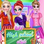 BFF High School Stil Spiel