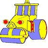 игра Большое колесо автомобиля окраску