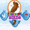 игра Птицы, раскраска