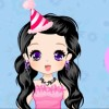 Birthday Girl Face Art Dress up game
