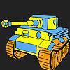 Großer Tank Färbung Spiel