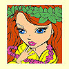 Big princess picture coloring game