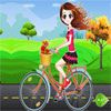 Bicicleta niña Dressup juego