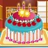 Születésnapi torta készítő játék
