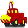Büyük kırmızı traktör boyama oyunu