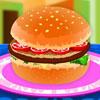 Gran hamburguesa sabrosa juego