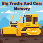 Big Trucks And Cars Memory game