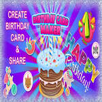 Birthday Card Maker game
