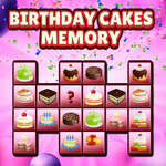 Birthday Cakes Memory game