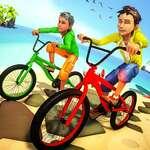 Cascadorii biciclete 3D joc