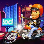 Motorcu Yıldızlar Yarışçısı oyunu