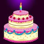 Rompecabezas de pastel de cumpleaños juego