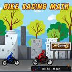 игра Математика велогонок
