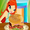 Bloom Burger cuisiner jeu