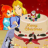 Bloom Sky Christmas Cake game