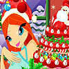 Bloom Christmas Cake game