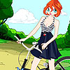 Bloom fiets Fashion spel