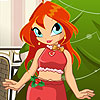 Bloom Doll Christmas Dressup game