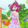 Virágos-tavaszi ruha játék