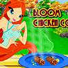 Floración de pollo cocina juego