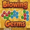 Blowing Germs game