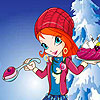 Bloom Christmas Dressup game