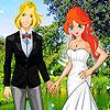 Mariage de ciel de fleurs jeu