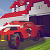 Block-Stadt Parkplatz Spiel