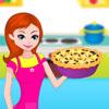 Modré bobule koláč, pečenie hra