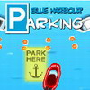 Blauwe haven parkeren spel