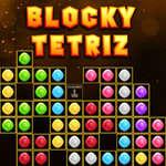 Blocky Tetriz joc