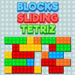 Blocks Sliding Tetriz game