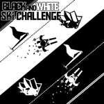 Black White Ski Challenge Spiel