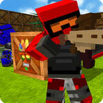 Blocky Pistola Paintball 2 juego