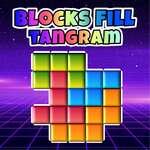 Blocs Remplir Tangram Puzzle jeu